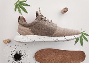 大麻製波鞋防水、防污又防塵 植物做材料就是環保?