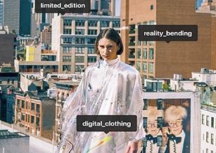 世界首條區塊鏈長袍賣了9500美元,時尚環保的未來是穿數字服裝?