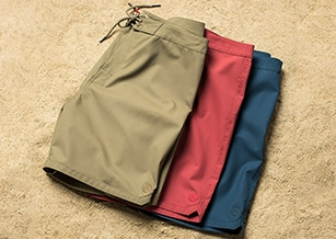 傳奇衝浪品牌 Outerknown 推出世界首條 100% 羊毛衝浪褲