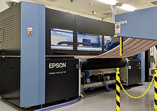 Epson 的 Monna Lisa 是一台突破傳統的巨型布料「印表機」