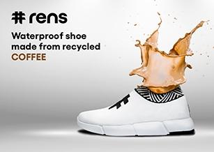 運動鞋品牌Rens 用咖啡渣製作鞋子