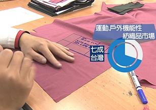 揚威國際賽場! 7成運動機能衣來自台灣