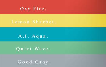 2021 年春夏流行什麼顏色? 網路色、極簡色...等未來五大勢色由色彩指南 Coloro 趨勢企劃《Key colors for S/S 21》公開!
