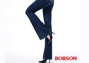 【BOBSON】女款WINCOOL貼腿大喇叭褲