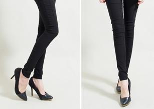 【Funsgirl】WINCOOL涼爽纖維顯瘦車線奈米褲